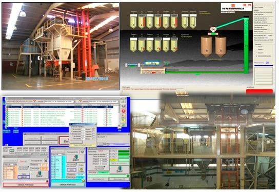Automatización y control de silos